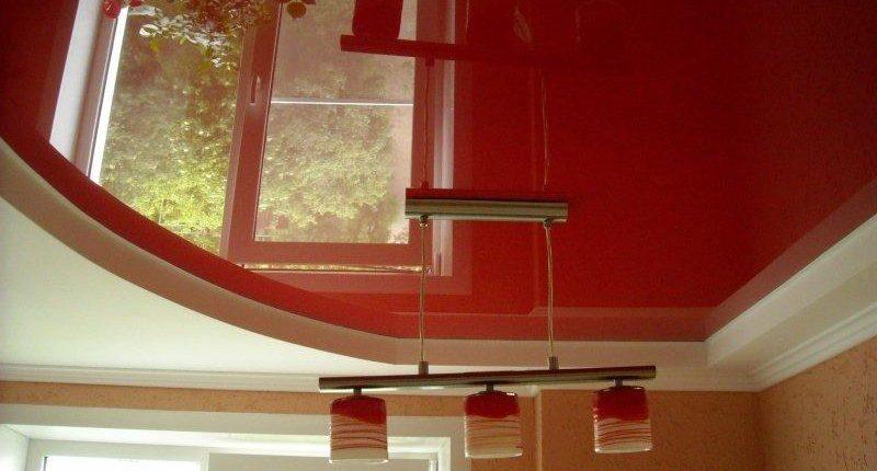 Установите дома глянцевый натяжной потолок и вы не пожалеете!